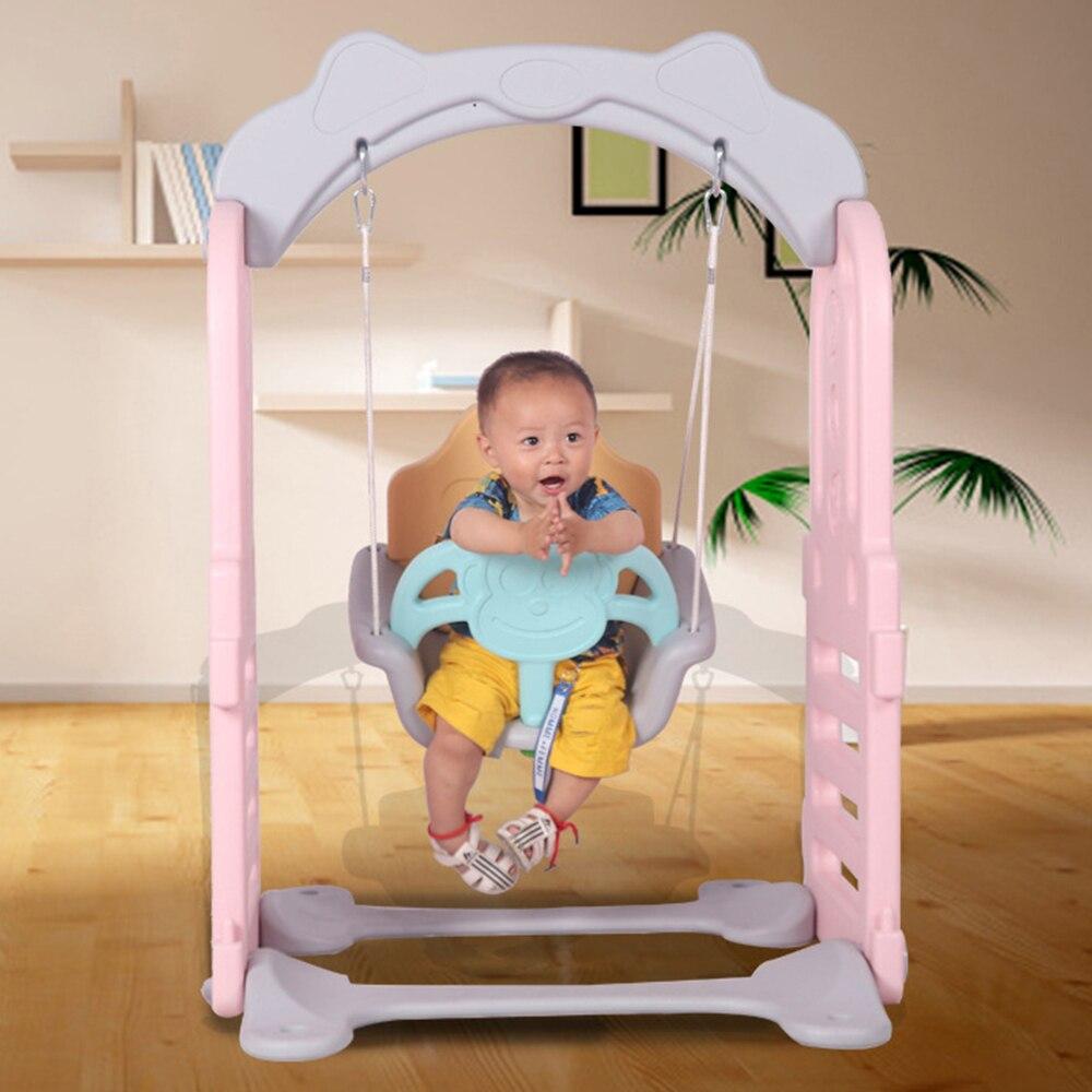 Siège de balançoire pour tout-petit intérieur-balançoire sécurisée extension de parc à jouer, parc approprié, parfait pour les nourrissons et les bébés - 6