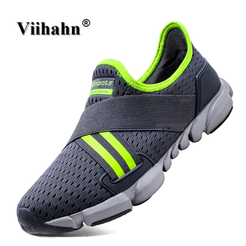 Viihahan Mens Walking Shoes 2017 Spring And Summer Lace Up Flat Shoes - Kasut lelaki
