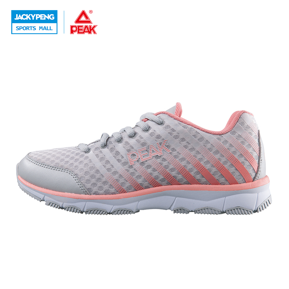 PEAK SPORT Women Running Shoes Cushioning Lightweight Jogging Shoes Trainers Summer Mesh Breathable Athletic Training Sneakers peak sport men outdoor bas basketball shoes medium cut breathable comfortable revolve tech sneakers athletic training boots