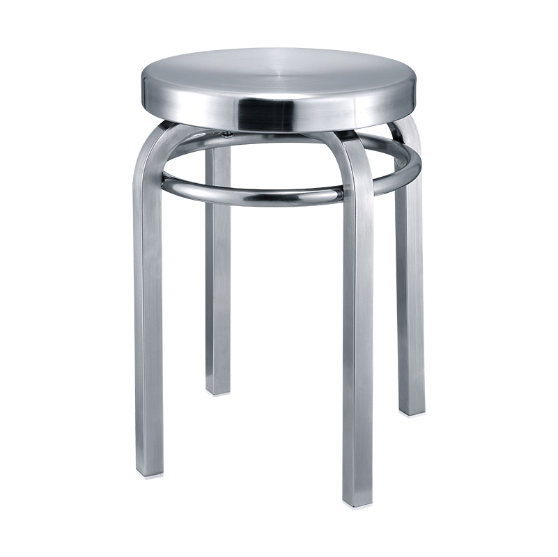 Stainless Steel Stool Industrial Wind Chair Bar Creative Experiment Surgery Hairdressing Brushed Iron Personality Simple Stool