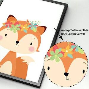 Image 4 - Affiches et imprimés nordiques en forme de lapin