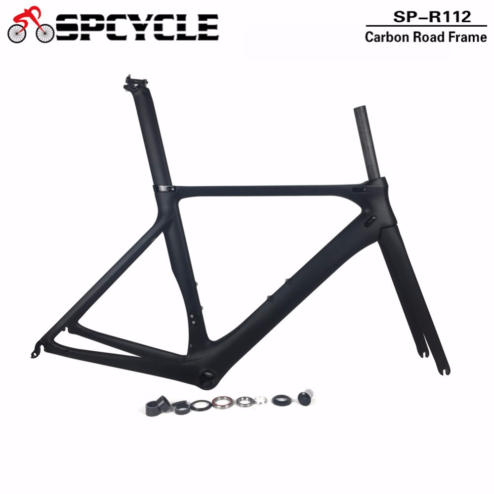 купить 2019 New Model Aero Carbon Road Frames 700C Carbon Bike Frames Bicycle Road Carbon Frame,T800 Racing Carbon Framesets по цене 26247.04 рублей