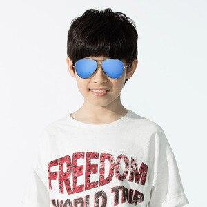 Image 5 - Youpin TS Модные Винтажные Солнцезащитные очки Классическая Металлическая оправа TAC поляризованные солнцезащитные очки с защитой от УФ детские солнцезащитные очки