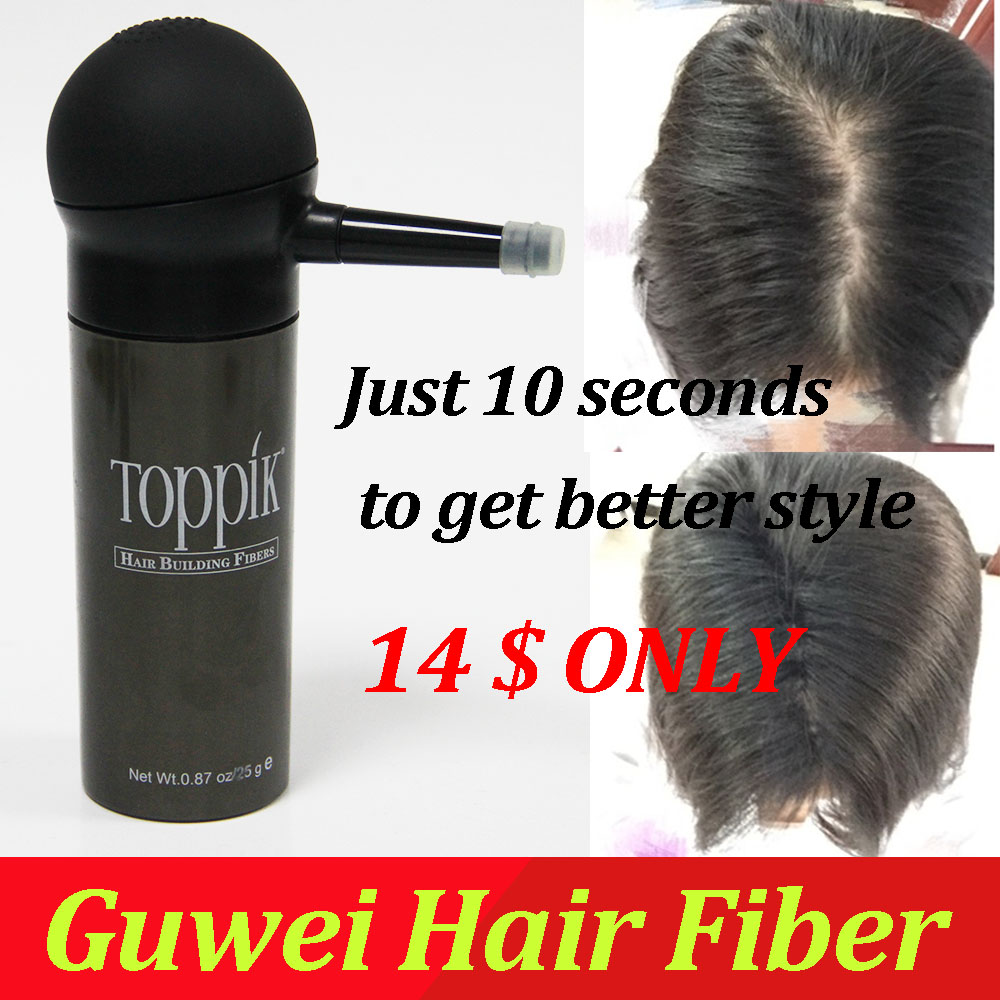 best hair treatment shop Toppik 27.5g hair fibers bottle + toppik applicator/pump , just sell 14 usd with free shipping registered mail