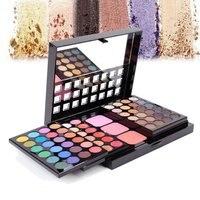 78 Color Eyeshadow Palette Set 48 Eye Shadow 24 Lip Gloss 6 Foundation Face Powder Blush