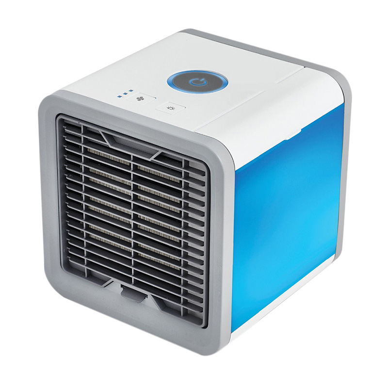 Alloet Small Arctic Air Cooler Personal Space Cooler Mini Air Conditioner Device Cooling Fan Summer Cooler for Home Office Desk