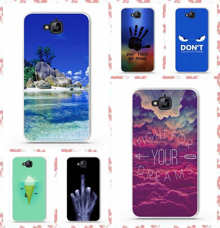 online retailer a401a 90784 US $1.1 |for Huawei Honor Y6 Pro Phone Cases Cute Soft TPU Silicone Phone  Bag Skin Back Cover Case for Huawei Honor Holly 2 Plus Enjoy 5-in ...