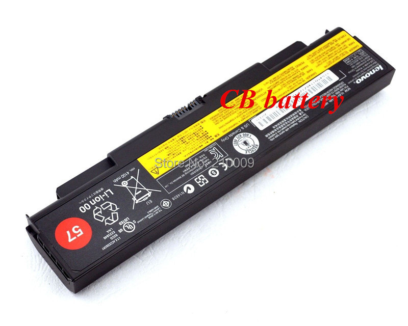 6 cell 10.8V 57wh new for <font><b>Lenovo</b></font> <font><b>T440P</b></font> T540P W540 L440 L540 laptop <font><b>battery</b></font> Free shipping image