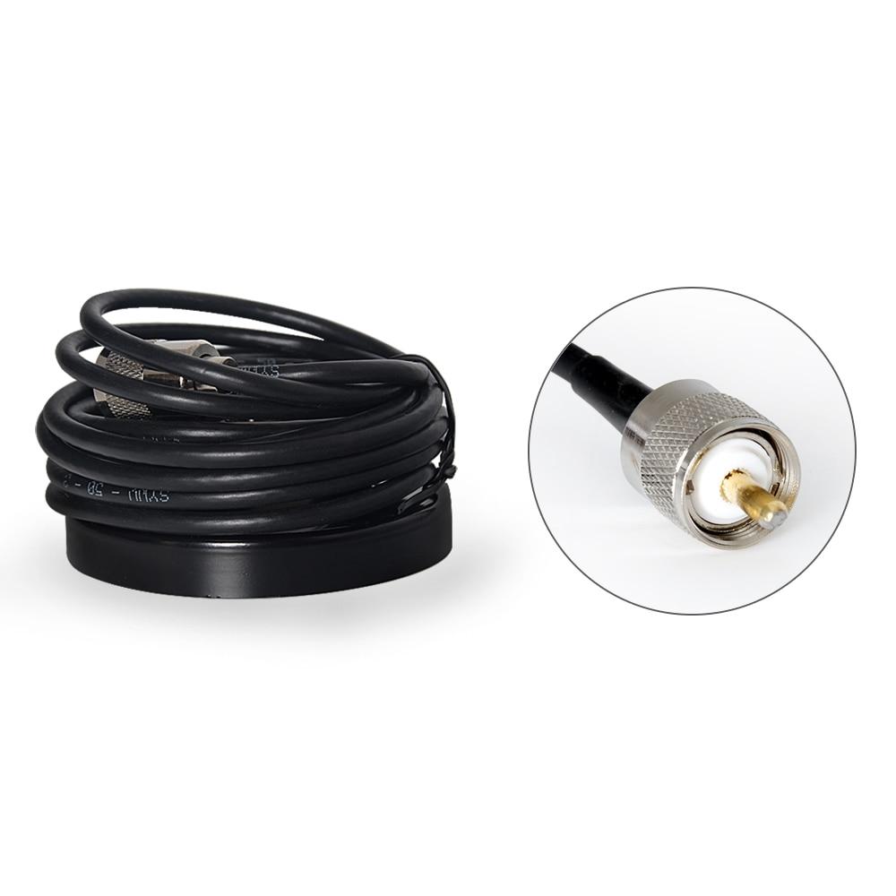 Magnete base for mobile car transceiver 5M feeder for car mount transceiver 9cm magnate