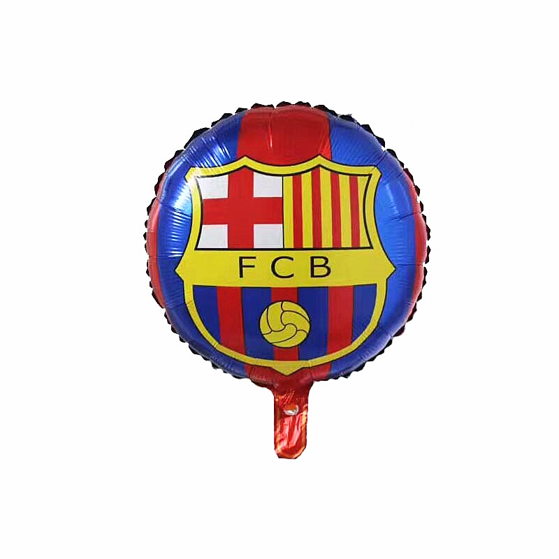 New champions league club barcelona aluminium foil balloon fcb team logo balloon barca soccer