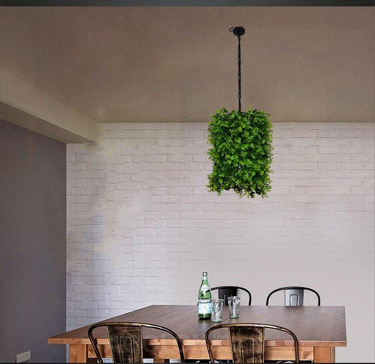 цена Creative Plant pendant light Pendant lamp for coffee bar dining room pendentes para sala de jantar suspension luminaire