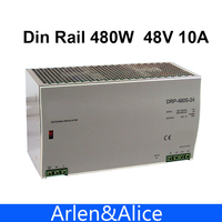 480W 48V 10A Din Rail Single Output Switching Power Supply