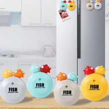 050 Timer Kitchen 60 Minute Cooking Mechanical kitchen alarm minute fish Cartoon no batteries 8.5cm*7cm