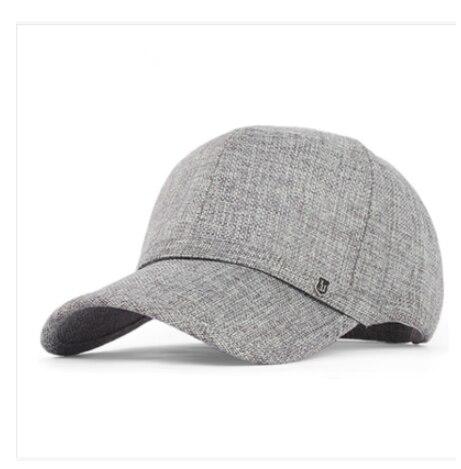 Free Shipping high-grade elder baseball cap hat summer outdoor leisure cap linen hat dad peaked cap  B-1530