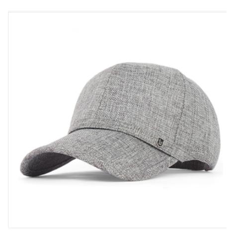 O envio gratuito de alta qualidade mais velho chapéu boné de beisebol verão cap lazer ao ar livre chapéu de linho boné de pala pai B-1530