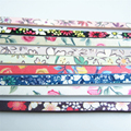 1 Meter 5*2mm Flat PU Printing Flower Chinoiserie China-Wind Leather For DIY Bracelet Jewelry Fittings