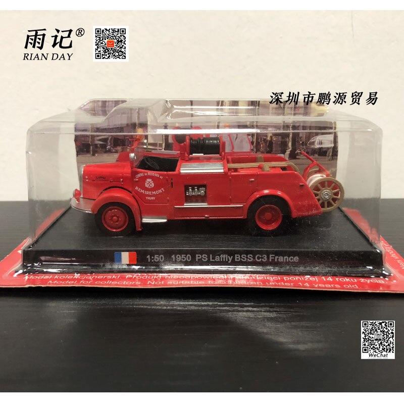 Амер 1/50 шкала модель автомобиля игрушки 1950 шт. Laffly BSS C3 Франции пожарная машина литье металла грузовик модель игрушки для подарок/Коллекция