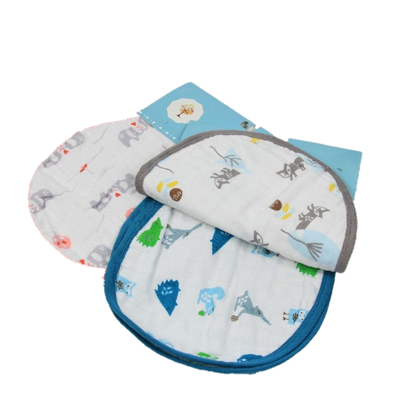 Free Shipping 2 Pcs/Lot Large Size Kids Bibs&Burp Cape None Sleeve Babies Clohes Children Kids Self Feeding Accessories