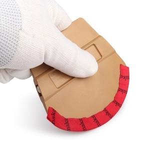 Image 5 - EHDIS raclette en feutre de microfibre, aimant en vinyle, en Film carbone, racleur denveloppe magnétique de voiture, autocollant de style de voiture, accessoires, outil de teinture de fenêtres