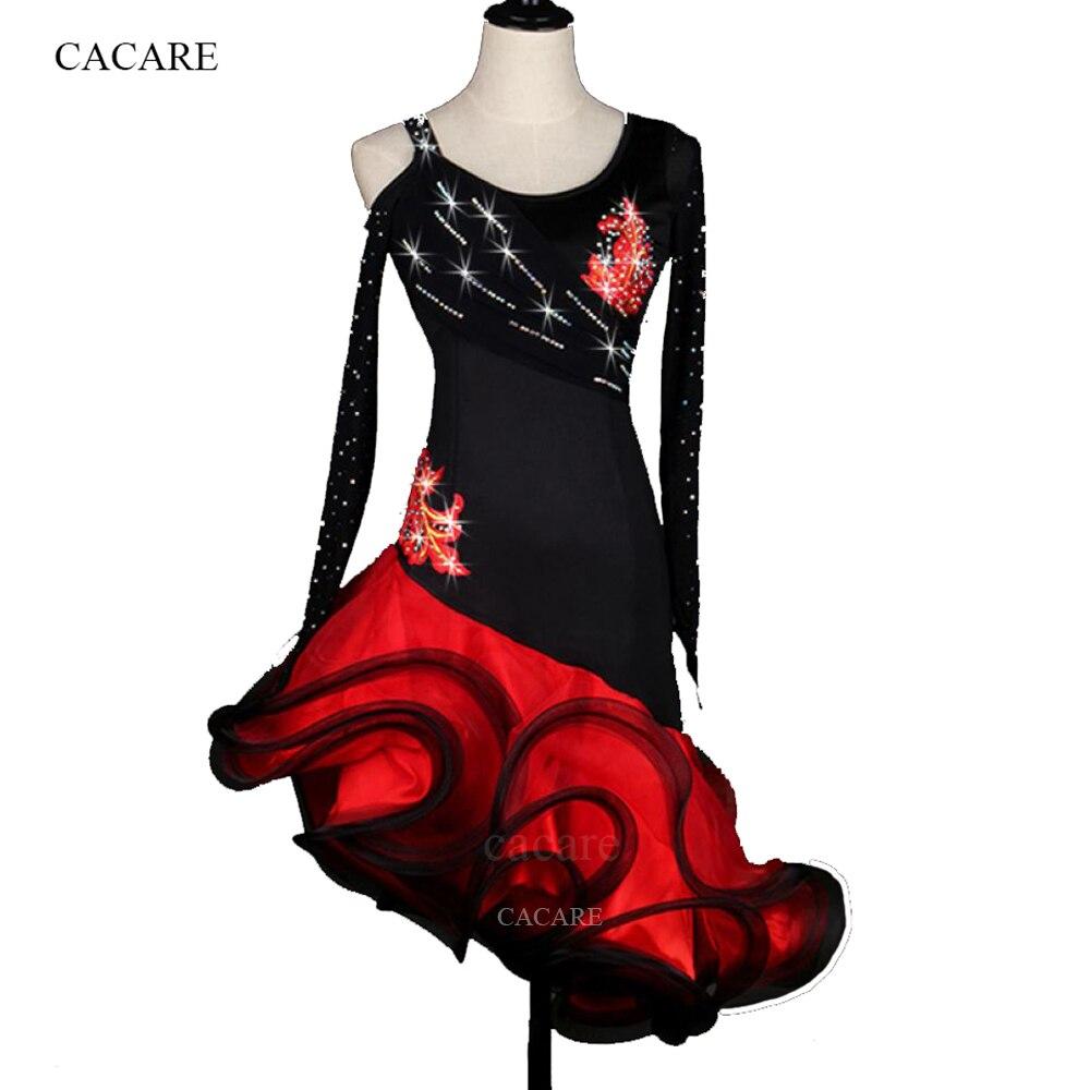 886680b864bb Λαϊκά φόρεμα χορού Γυναικεία κορίτσια ενδυμασία για ενήλικες Salsa ...