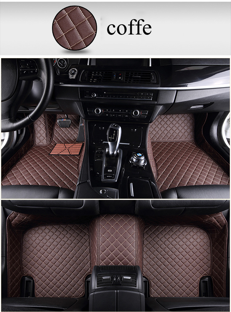 Custom Car floor mats for bmw e46 e36 e60 x5 e70 e30 f10 g30 e30 e34 e39 e90 f10 f20 f30 x1 e53 e87 x3 e83 carpet alfombra