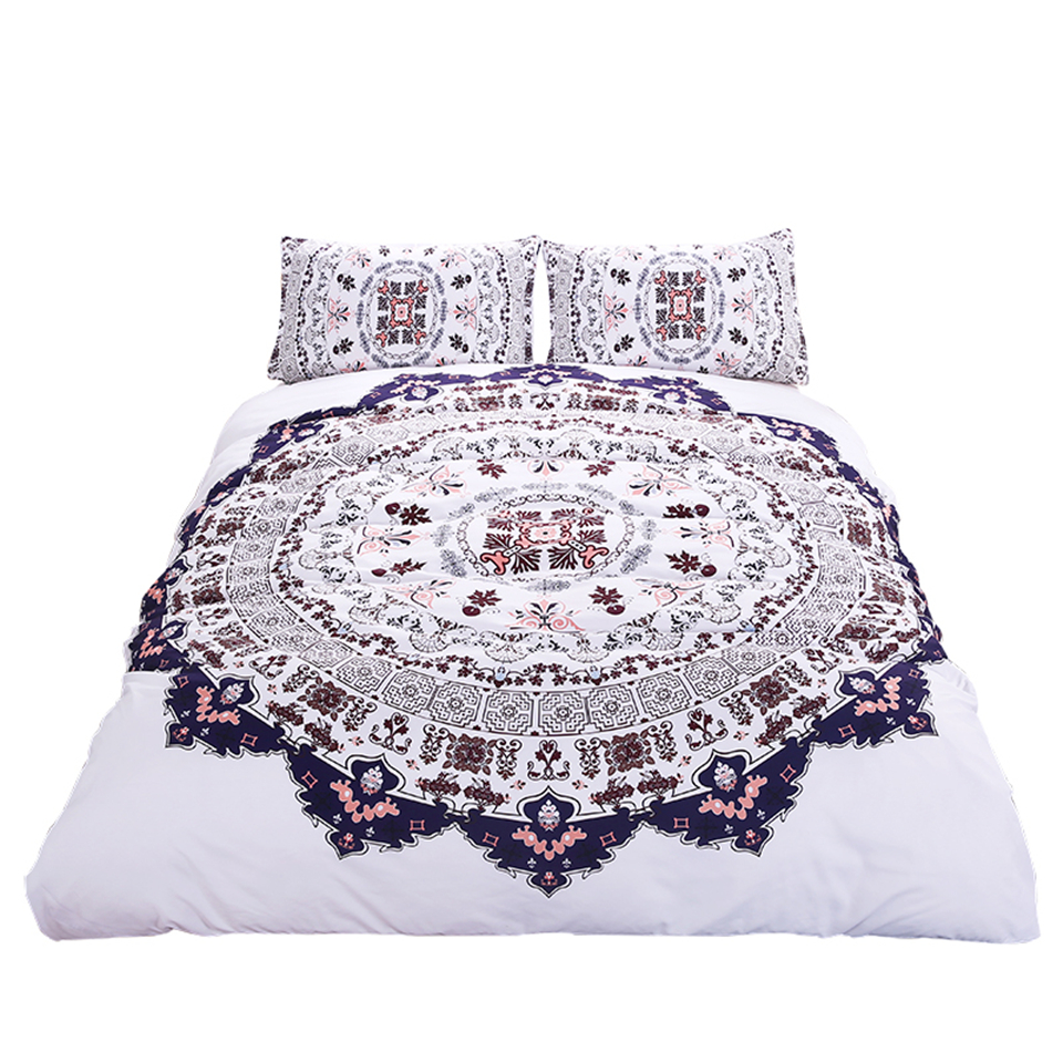online buy wholesale watercolor bedding from china watercolor  - hipster watercolor bedding set twin full queen king size duvet cover setsbohemian printed bed cover