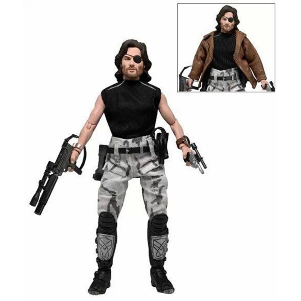 "Neca Movie Escape From New York <font><b>Snake</b></font> <font><b>Plissken</b></font> 8"" <font><b>Action</b></font> <font><b>Figure</b></font> NE033001 Free Shipping"