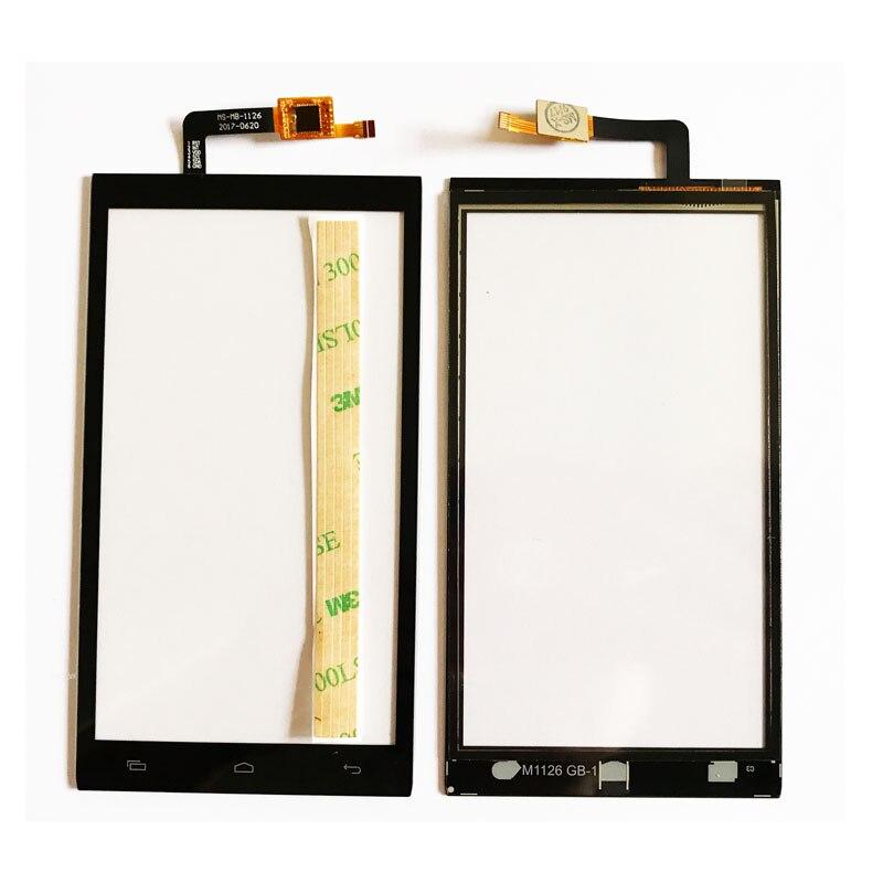 5.0 pouce Téléphone Digitizer Verre Pour Micromax AQ5001 Toile Jus 2 Écran Tactile Panneau Capteur Avant Lentille + 3 M Adhésif bande