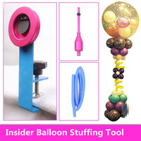1 Set Insider Balloon Stuffing Tool Kit for Wedding Birthday Celebration Party Decoration Balloon Associate Ball In The Ball