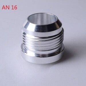 Image 5 - SPEEDWOW Chất Lượng Hàng Đầu Nhôm AN4 6 8 10 12 16 Một Nam Hàn Lắp Adapter Hàn Bung Nitơ vòi Lắp Bạc