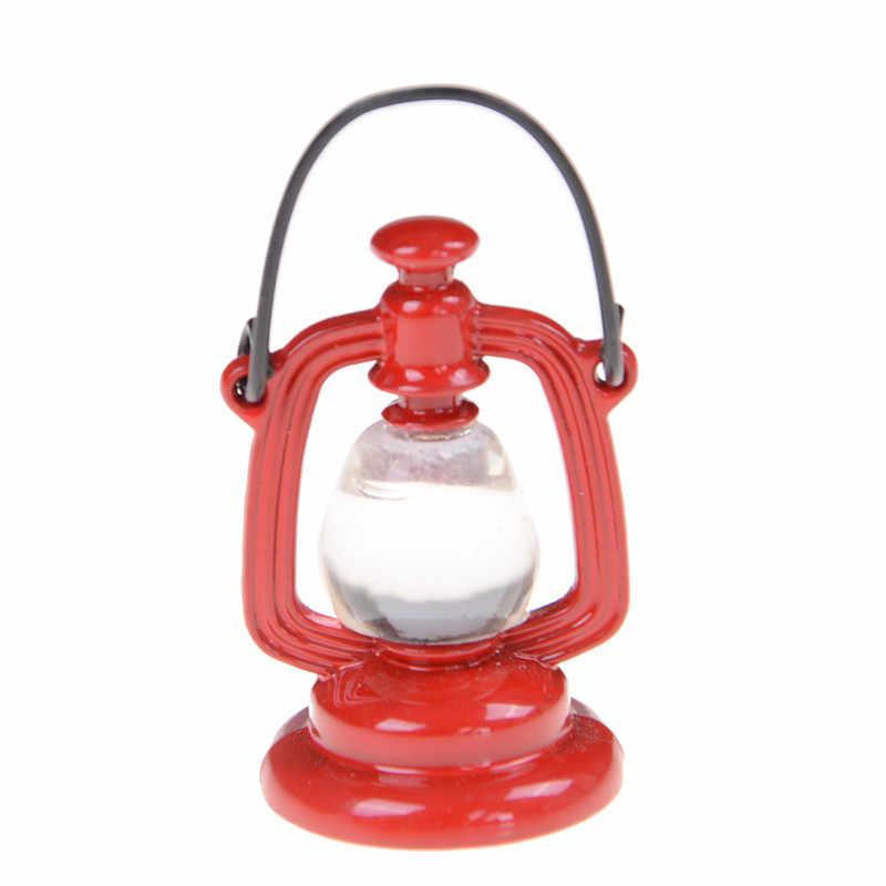 1 шт. Ретро масляная лампа кукольный домик миниатюрная мебель игрушка кукла еда кухонные аксессуары для гостиной для 1:6 1:12 весы