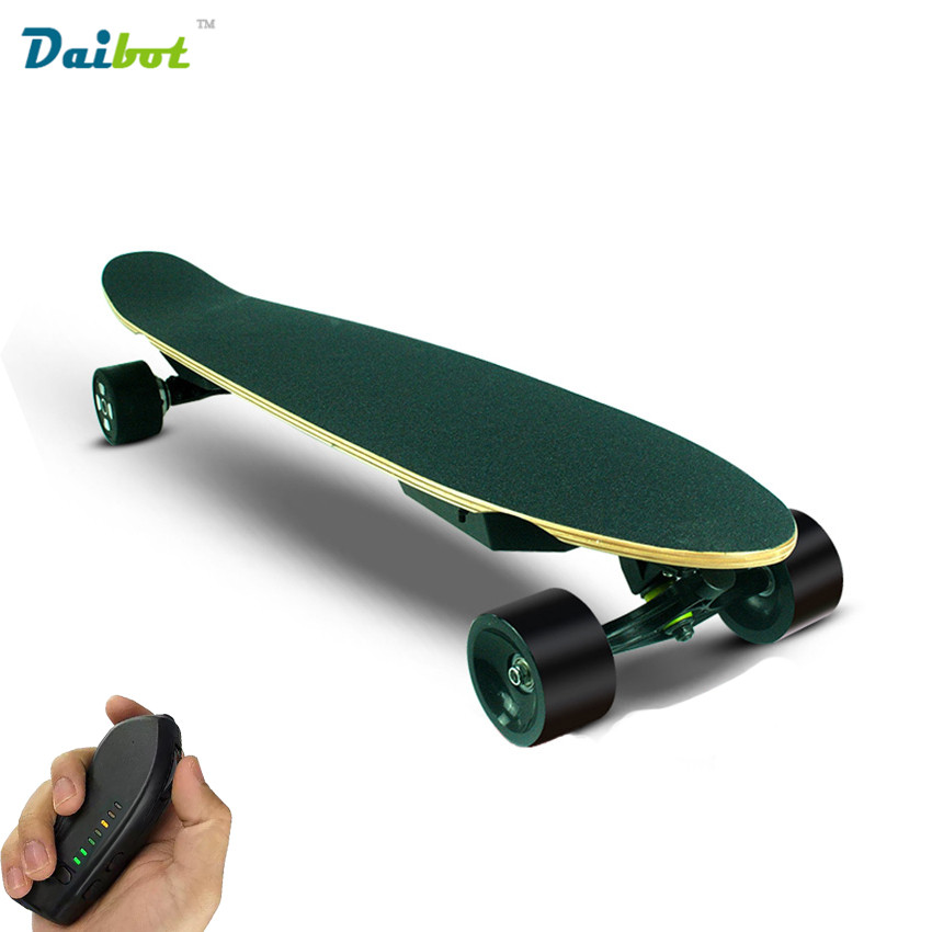 2017 New Dual Motor 300W*2 Remote Control Electric Skateboard Hoverboard Longboard Samsung Battery 40 KM/H 3 Speeds Adjustable alouette remote control electric skateboard scooter maple wood electric board longboard hub motor dual drive lg battery