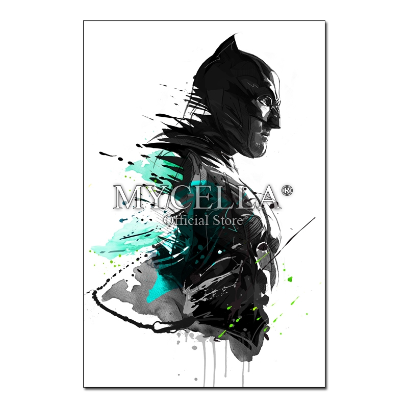 DIY 5D Diamond Embroidery Batman and Superman Diamond Painting cross stitch Full Diamond Mosaic Needlework Crafts Home Paintings in Diamond Painting Cross Stitch from Home Garden