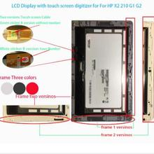 100%Original For HP Pavilion x2 210 G2 G1 LCD Display Lcd Screen With Digitizer