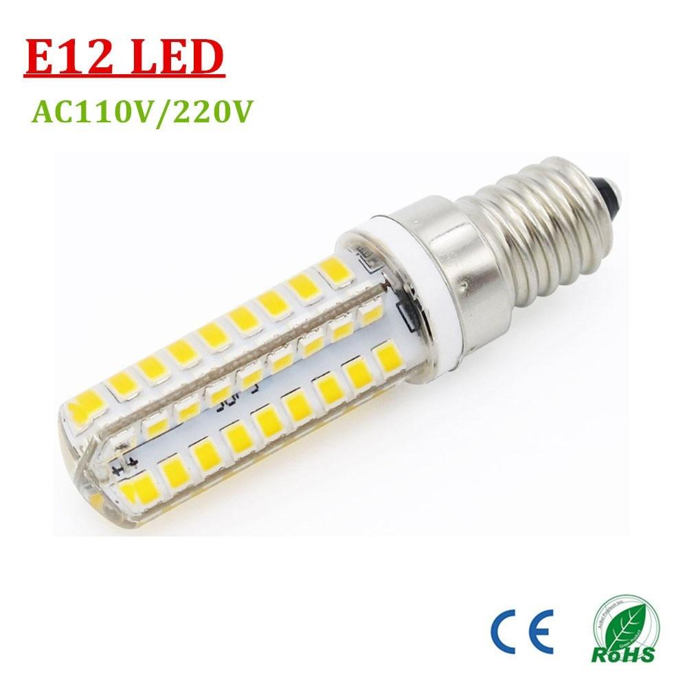 Pack of 50 e14 e12 lampada led 2835 smd fridge led light for Lampada led e14