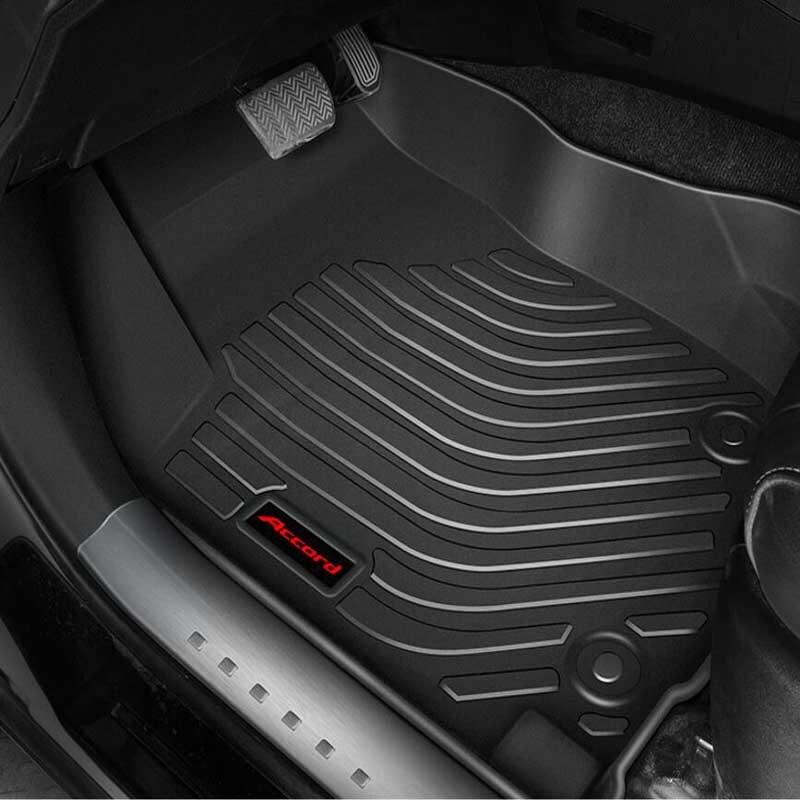 Assurance de la qualité 10 ans tapis imperméable à l'eau moteur tendance plat en caoutchouc tapis de sol de voiture tout temps BM-W de capture de déversement X3 2018 +