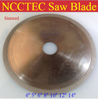 8 Kerf Thin Diamond Segment SINTERED Continuous Rim Saw Blade FREE Shipping 200mm Super Premium Turbo