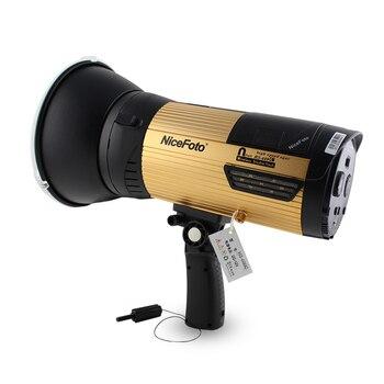 NiceFoto HS 400C  400W High-speed sync HSS 1/8000S Studio Flash High Speed Speedlite with Transmitter for Canon Camera