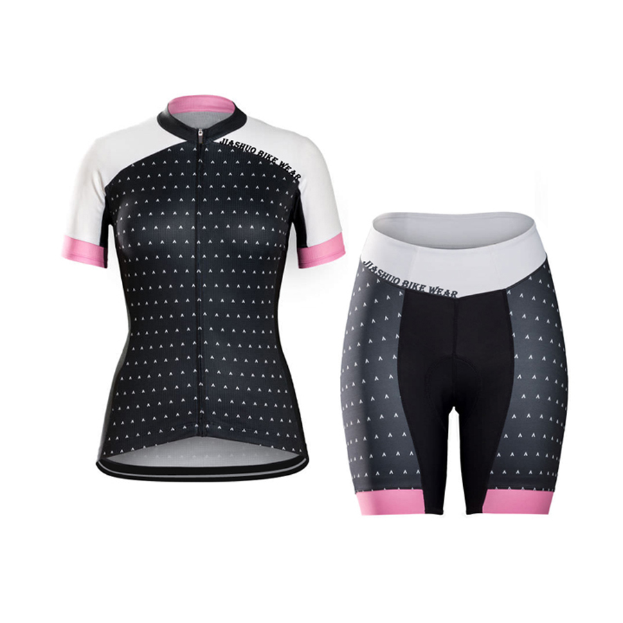 NEW Women Hot 2017 JIASHUO Bicycle Hot / Road RACING Team Bike Wear Cycling Sets / Wear Jersey / Shorts Breathable 3D Gel Pad