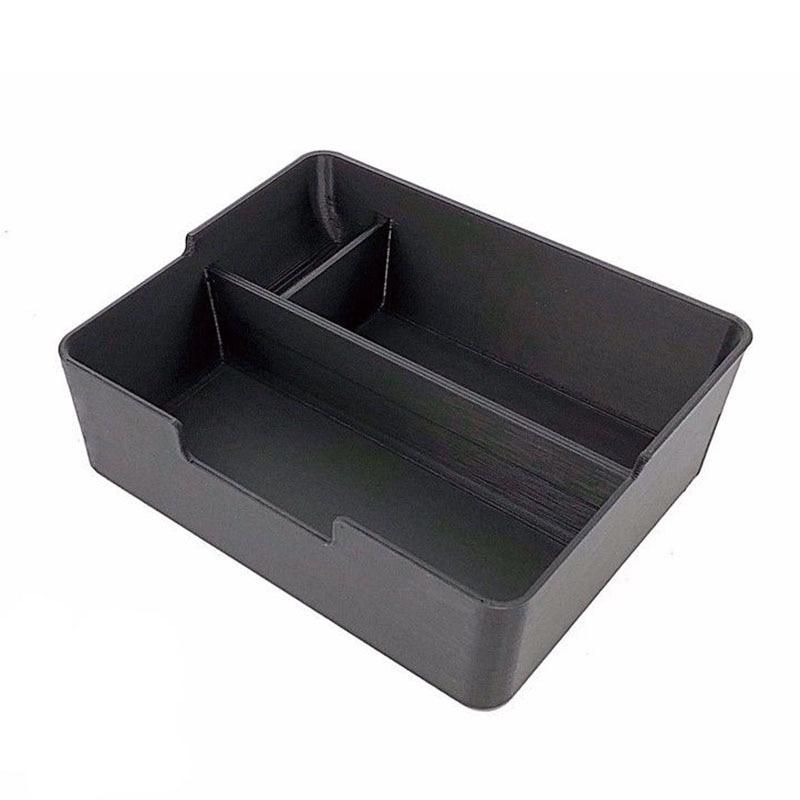 Center Console Armrest Container Box Storage font b Sunglass b font Holder For Tesla Model 3