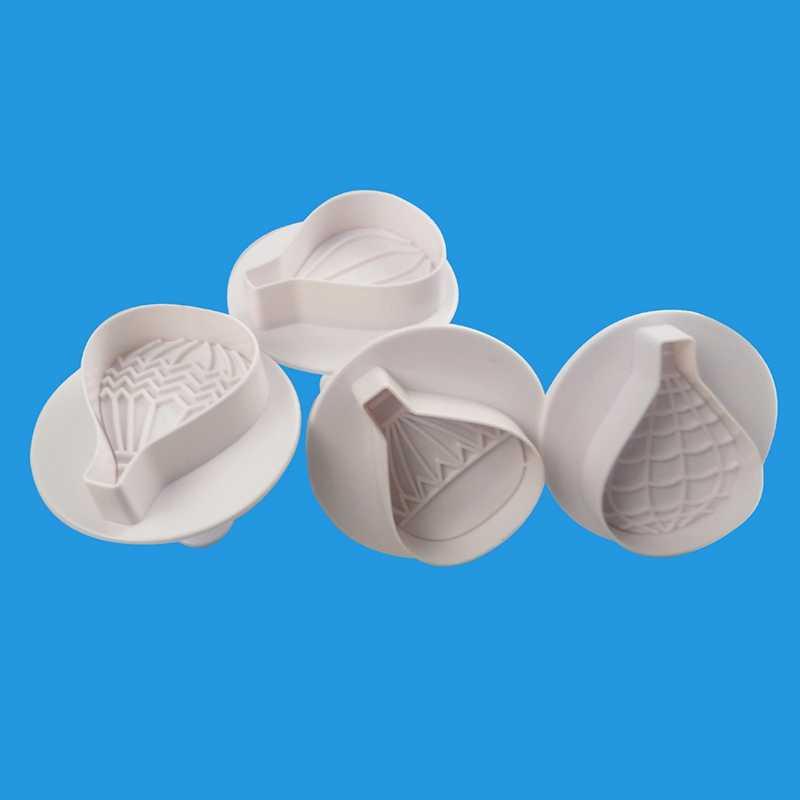Воздушный шар формочки для печенья 4 шт. Набор форм придания формы мастике
