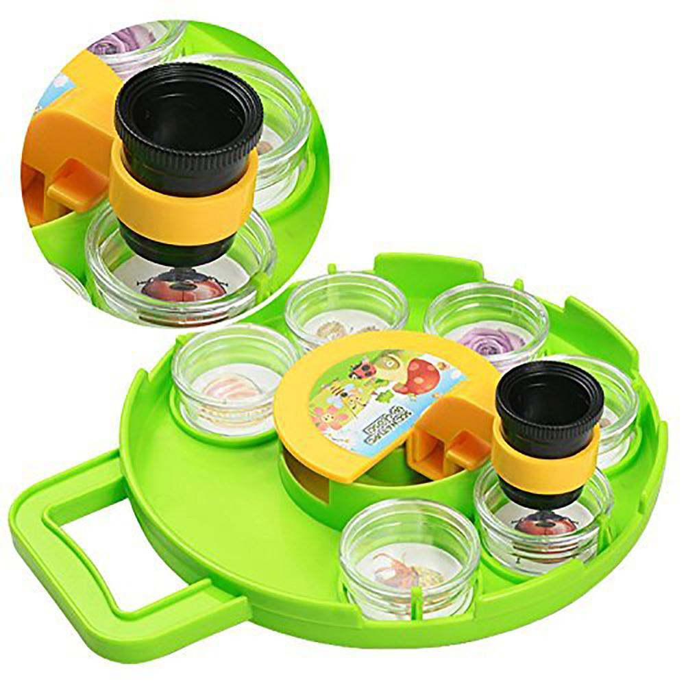 Kids Eco-friendly Microscope Bug Catcher Viewer Set Magnifier Collection Case Explorer Toy Educational Toy For Kids Explore