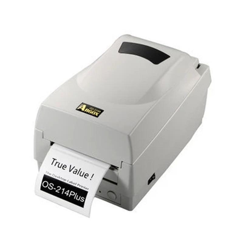 все цены на Argox thermal transfer ribbon printer 0S-214plus 203dpi barcode sticker printer support printing Jewellery clothing label tags онлайн