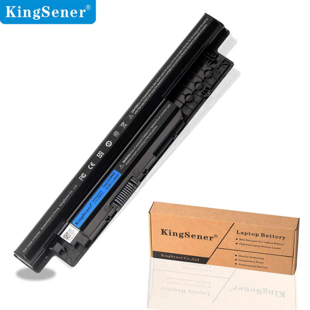 14.8V 40WH KingSener XCMRD Laptop Battery for DELL Inspiron 3441 3442 3443 5721 3521 3437 3537 5437 5537 3737 5737 MR90Y new laptop hinge for dell inspiron 15 3521 5537 5537 2521 2528 3537 i15rv 1667blk 15 6 pn amosz000200 amosz000100