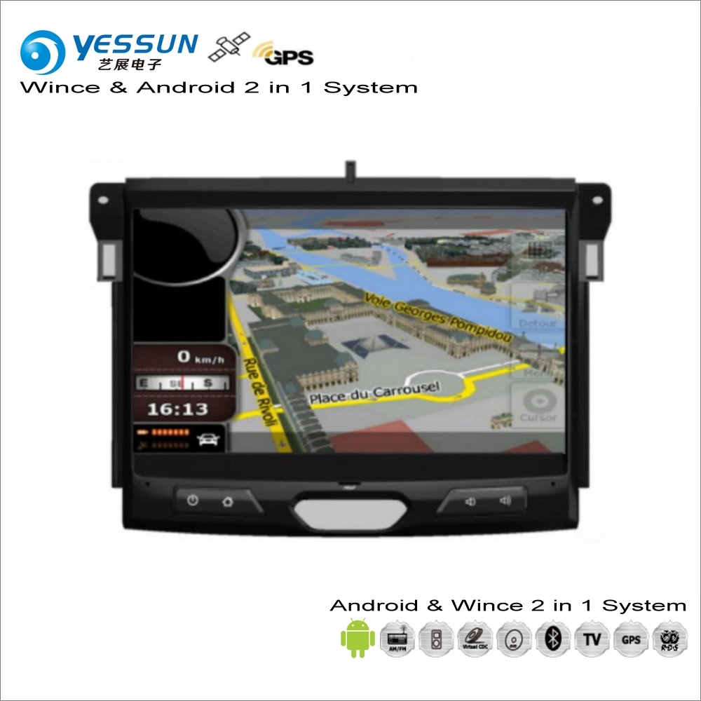YESSUN For Ford Ranger 2015~2017 - Car Android Multimedia Radio CD DVD Player GPS Navi Map Navigation Audio Video Stereo System цена 2017