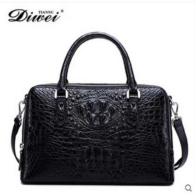 Diwei 2018 new hot free shipping fashion lady handbag really crocodile luxury leisure shoulder tide female bag women handbag yuanyu 2018 new hot free shipping crocodile women handbag wrist bag big vintga high end single shoulder bags luxury women bag