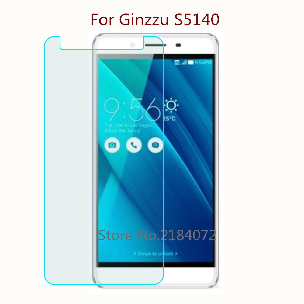9H 2.5D Screen Protector Glass For Ginzzu S5140 Tempered Glass SmartPhone Front Film Protective Screen
