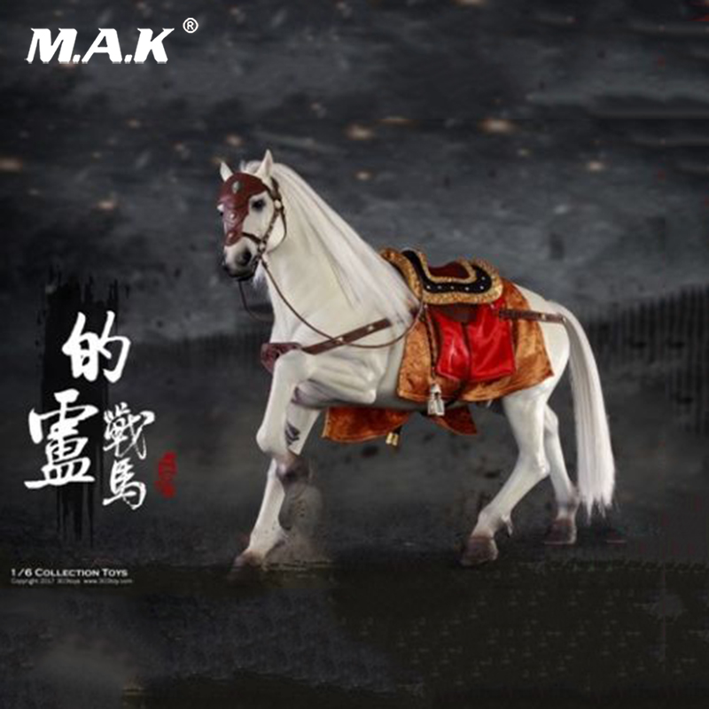 For Collection 1/6 Three Kingdoms Liu Bei War Horse Ancient Horses Figure Horse Figure model for 12 Action Figure zh005 1 6 scale knights of malta ancient medieval action figure soldier type 12 figure body for collection gift