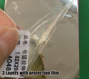 Image 4 - Premium High stretchable mirror silver Chrome Mirror flexible Vinyl Wrap Sheet Roll Film chrome mirror vinyl sticker