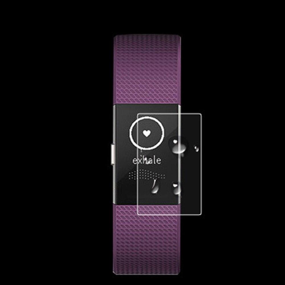 Ultra õhuke plahvatusvastane HD selge täisekraaniga TPU ekraani kaitsekile Fitbit laengu jaoks 2 nutika käevõru käevõru